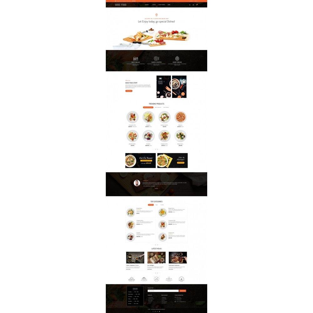 theme - Продовольствие и рестораны - Good Gusto Food - 2
