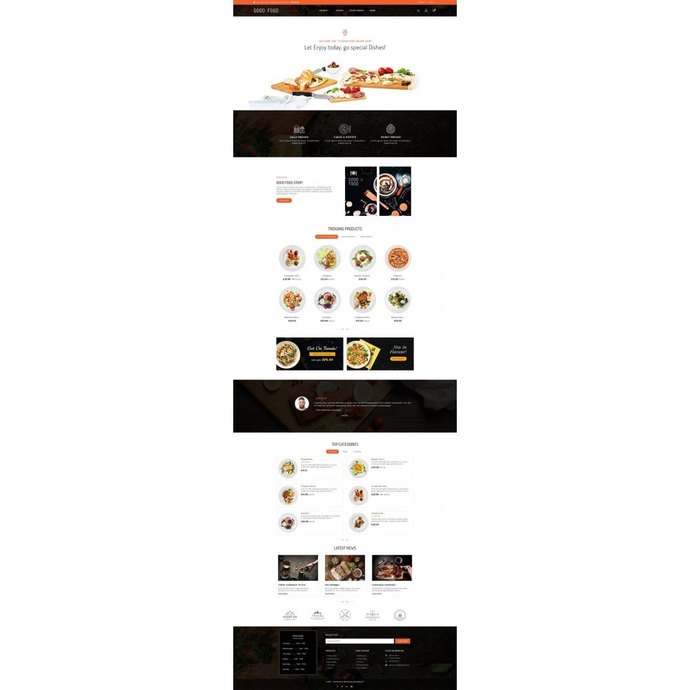theme - Eten & Restaurant - Good Gusto Food - 2
