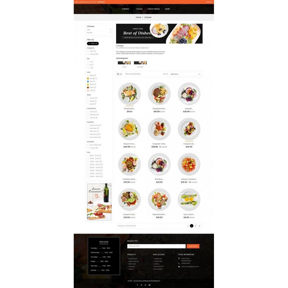 theme - Продовольствие и рестораны - Good Gusto Food - 3
