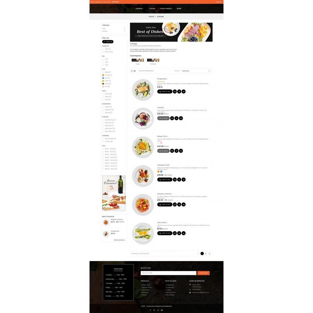 theme - Продовольствие и рестораны - Good Gusto Food - 4