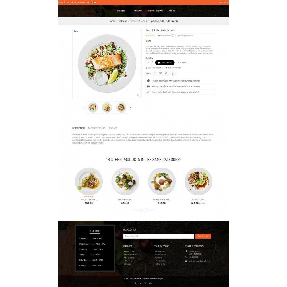 theme - Продовольствие и рестораны - Good Gusto Food - 5