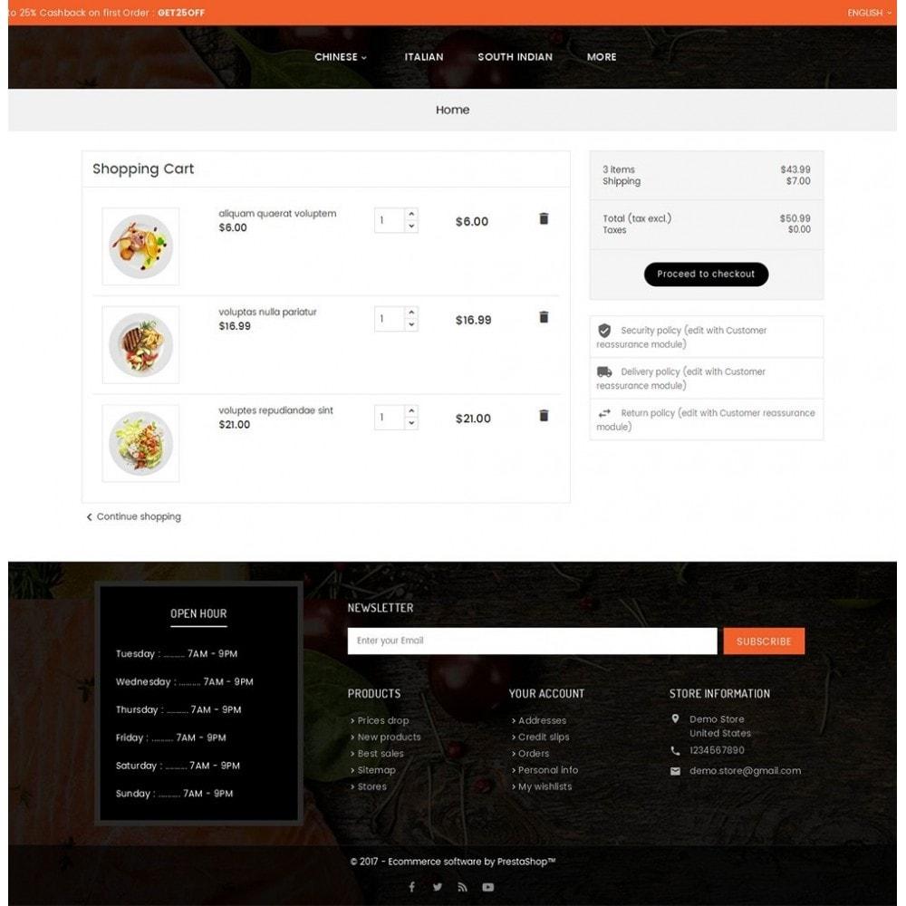 theme - Продовольствие и рестораны - Good Gusto Food - 6