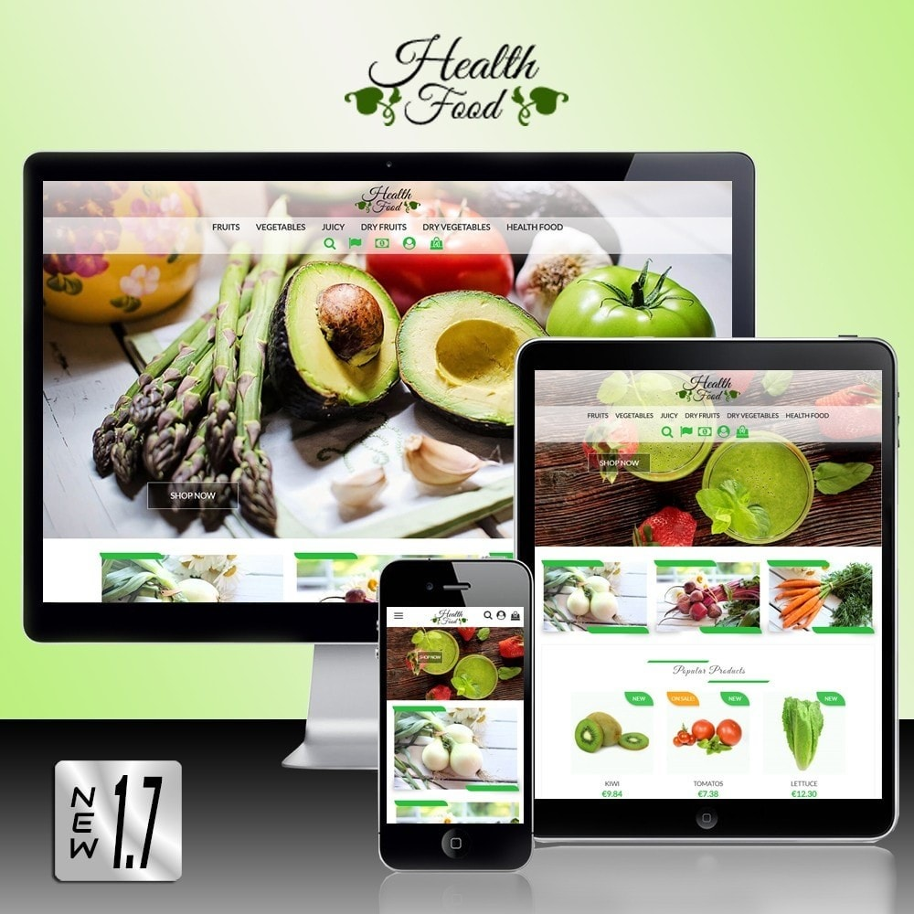 theme - Food & Restaurant - Healthy Food - 1