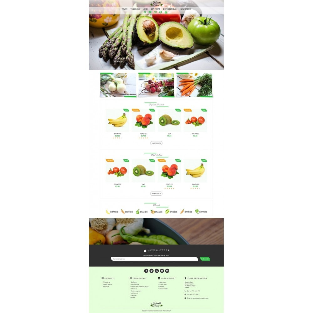 theme - Food & Restaurant - Healthy Food - 2