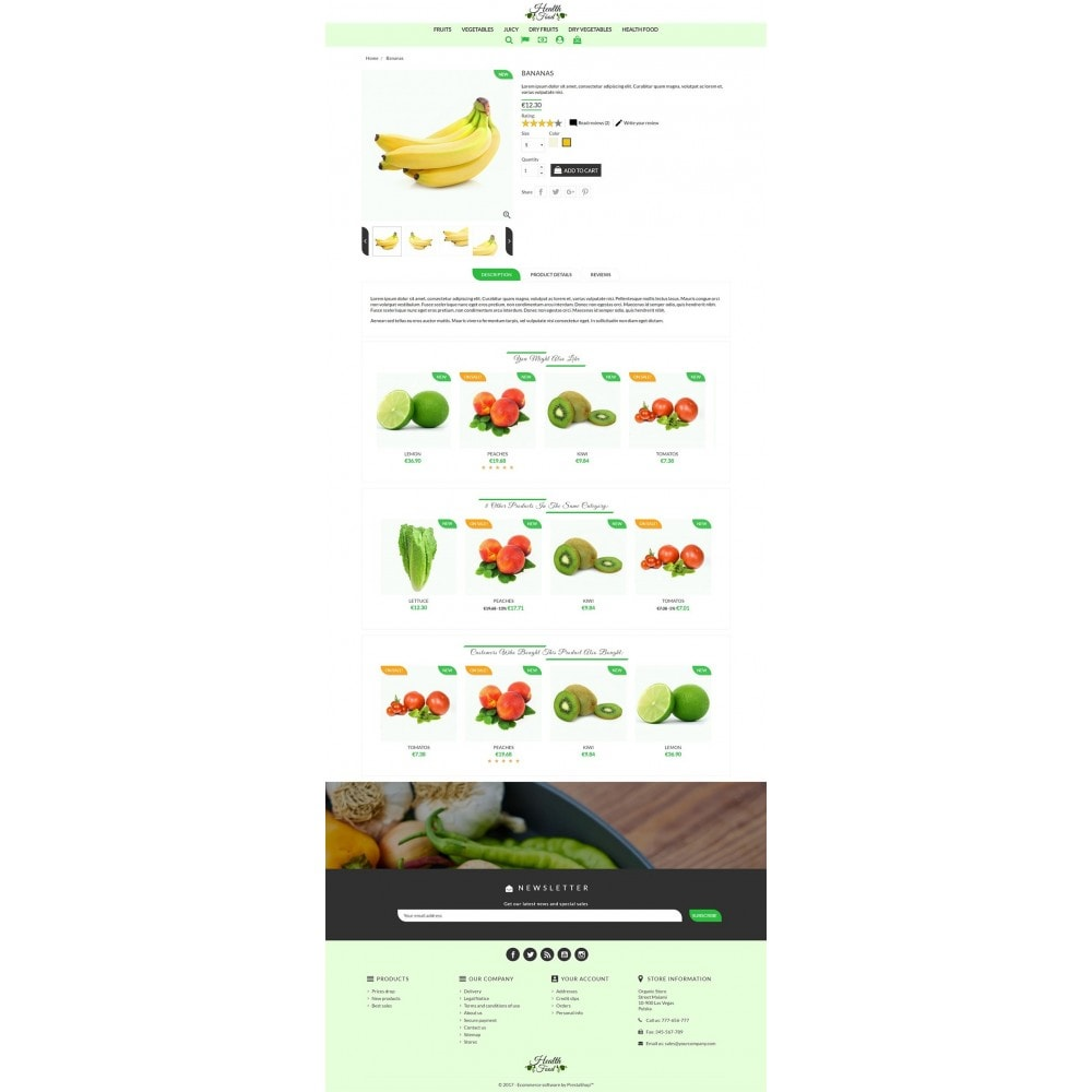 theme - Food & Restaurant - Healthy Food - 3
