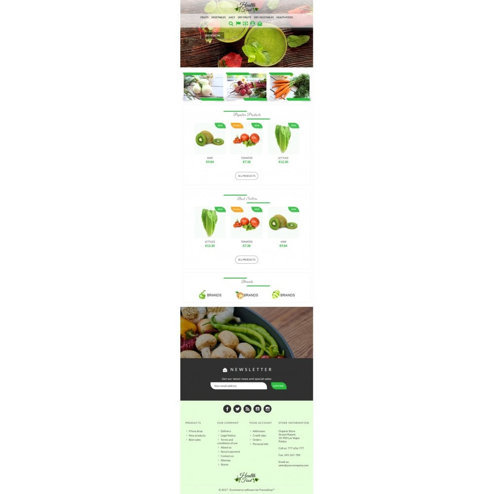 theme - Food & Restaurant - Healthy Food - 5