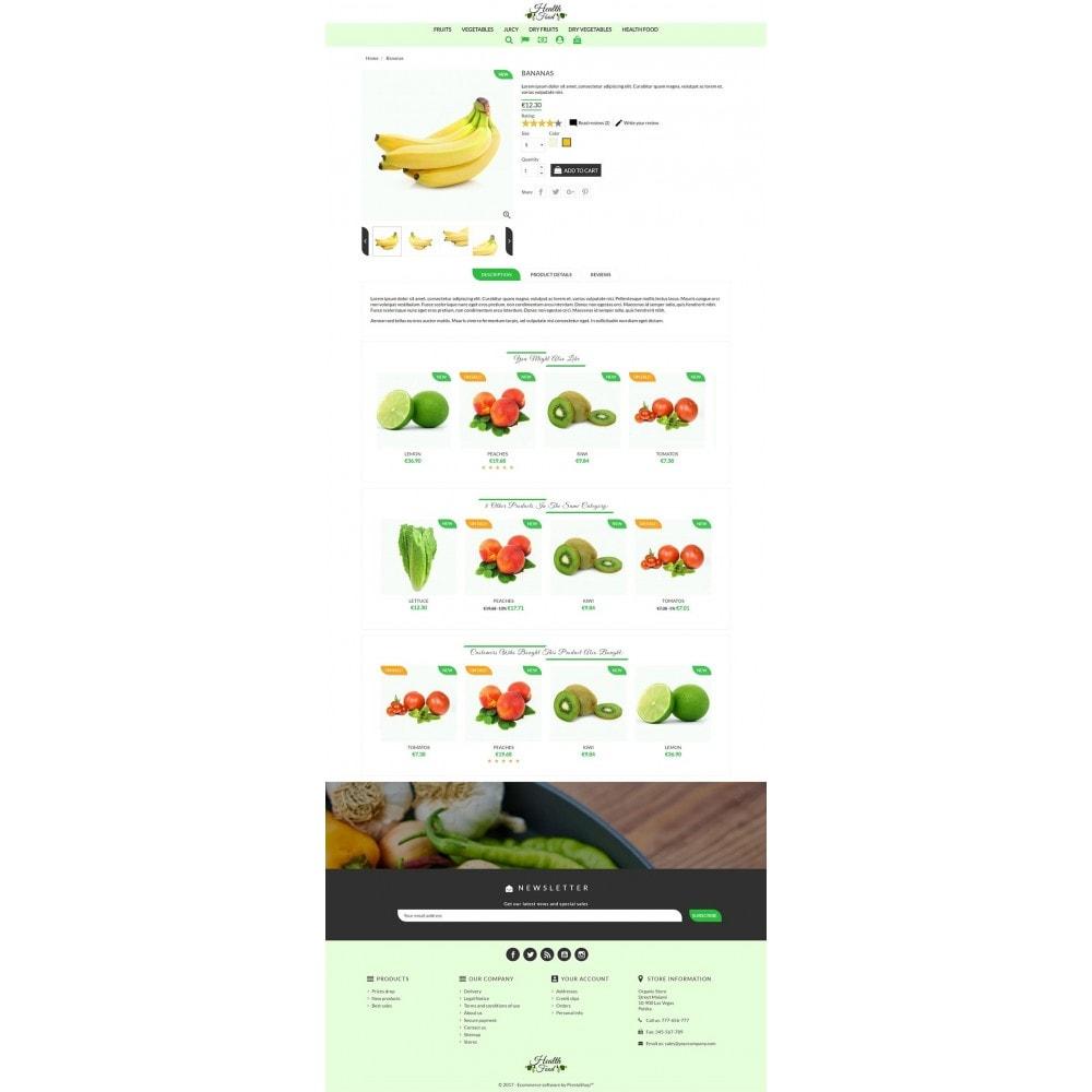 theme - Żywność & Restauracje - Healthy Food - 4
