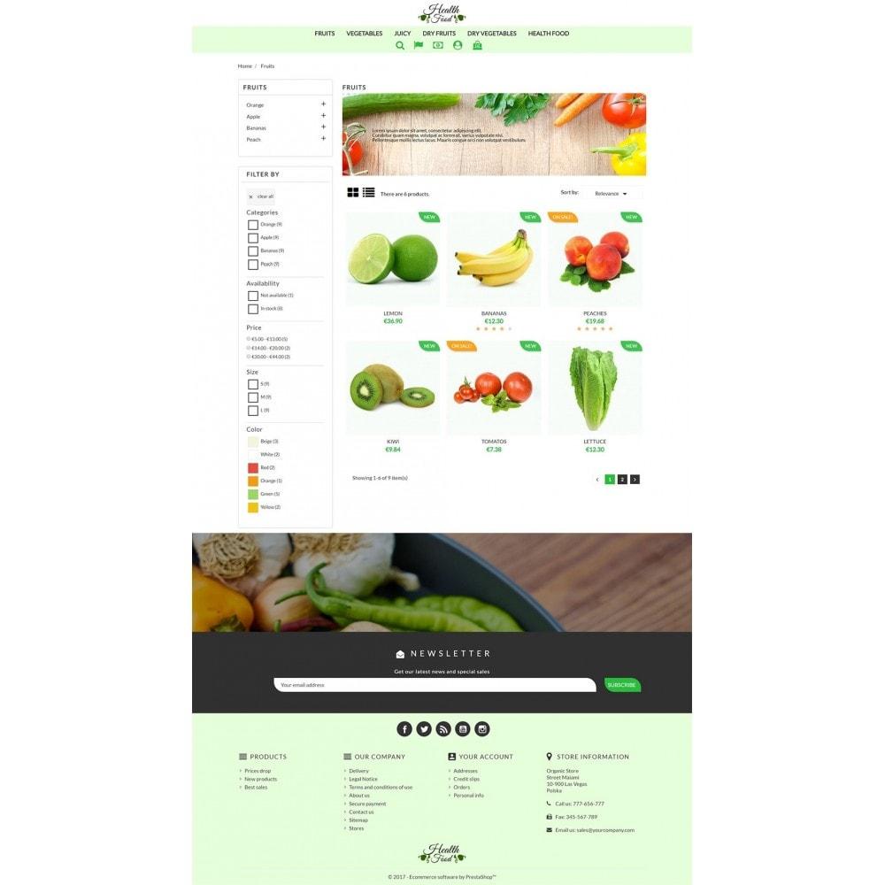 theme - Żywność & Restauracje - Healthy Food - 5