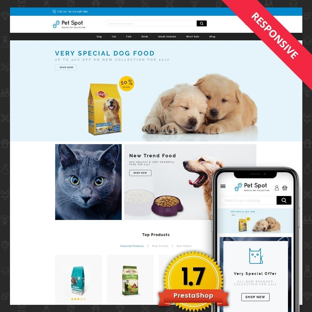 theme - Tier - Pet Spot - Animal Food - 1