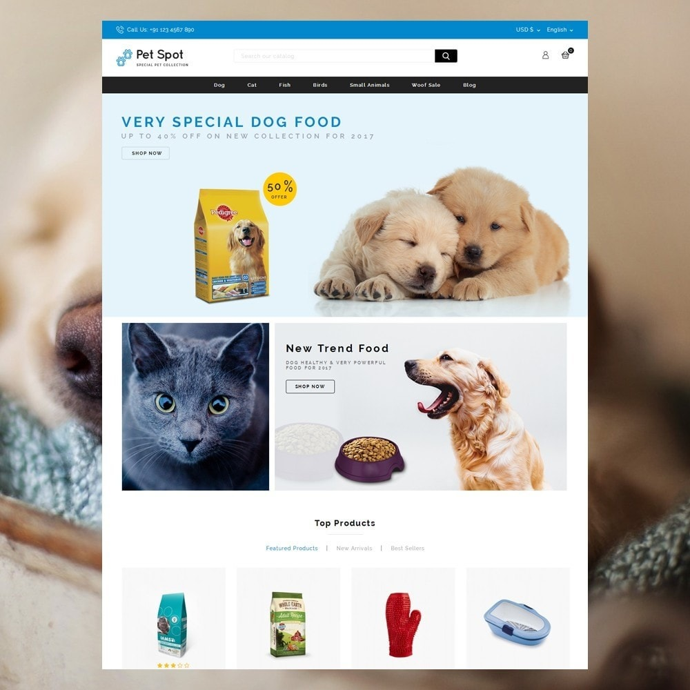 theme - Tier - Pet Spot - Animal Food - 2