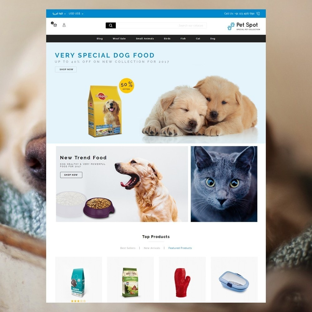 theme - Tier - Pet Spot - Animal Food - 10