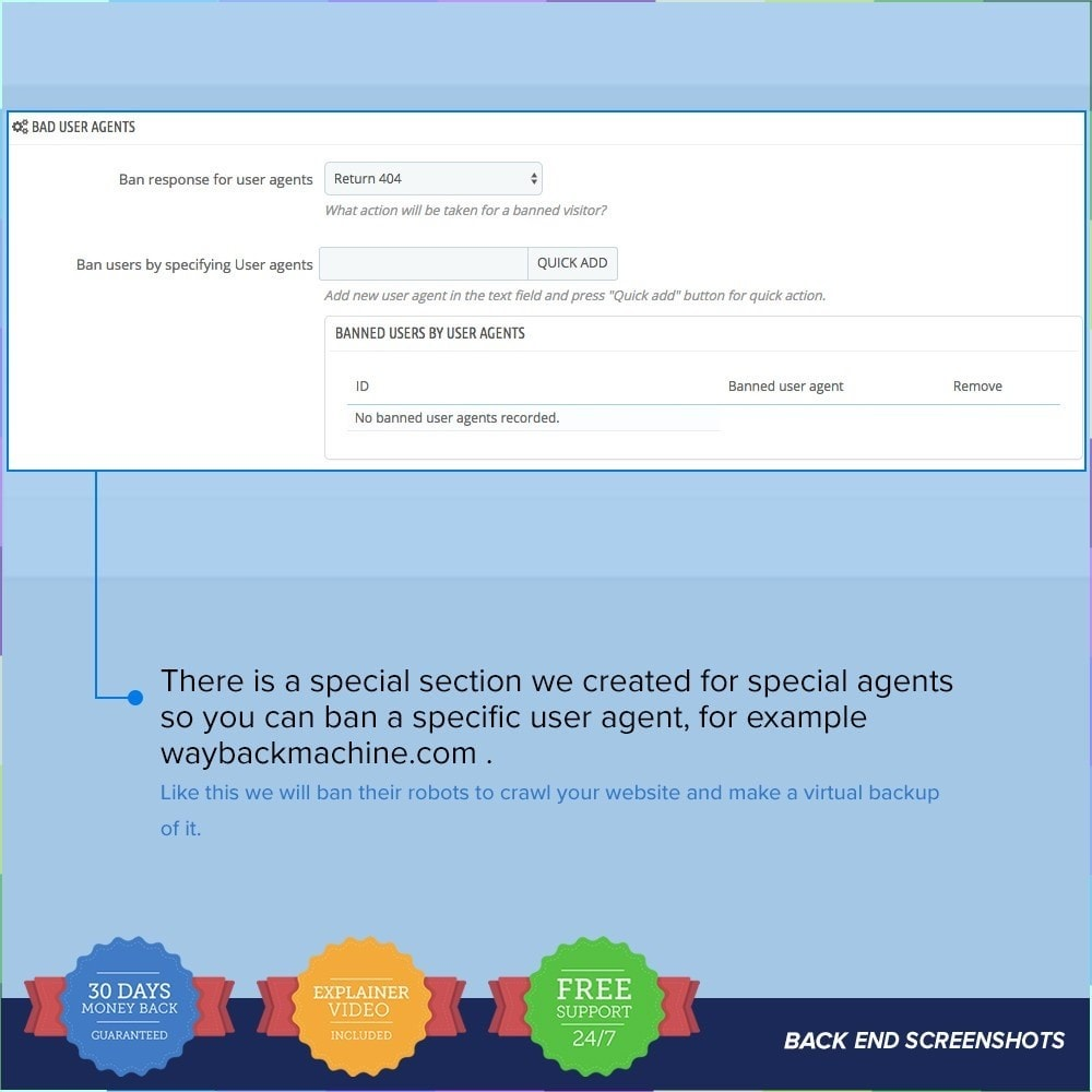 module - Veiligheid & Toegang - Protect Shop PRO / Anti Hack - 18