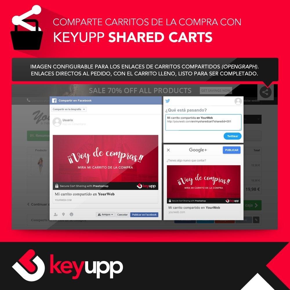 module - Compartir contenidos y Comentarios - Carritos de la compra compartidos - 4