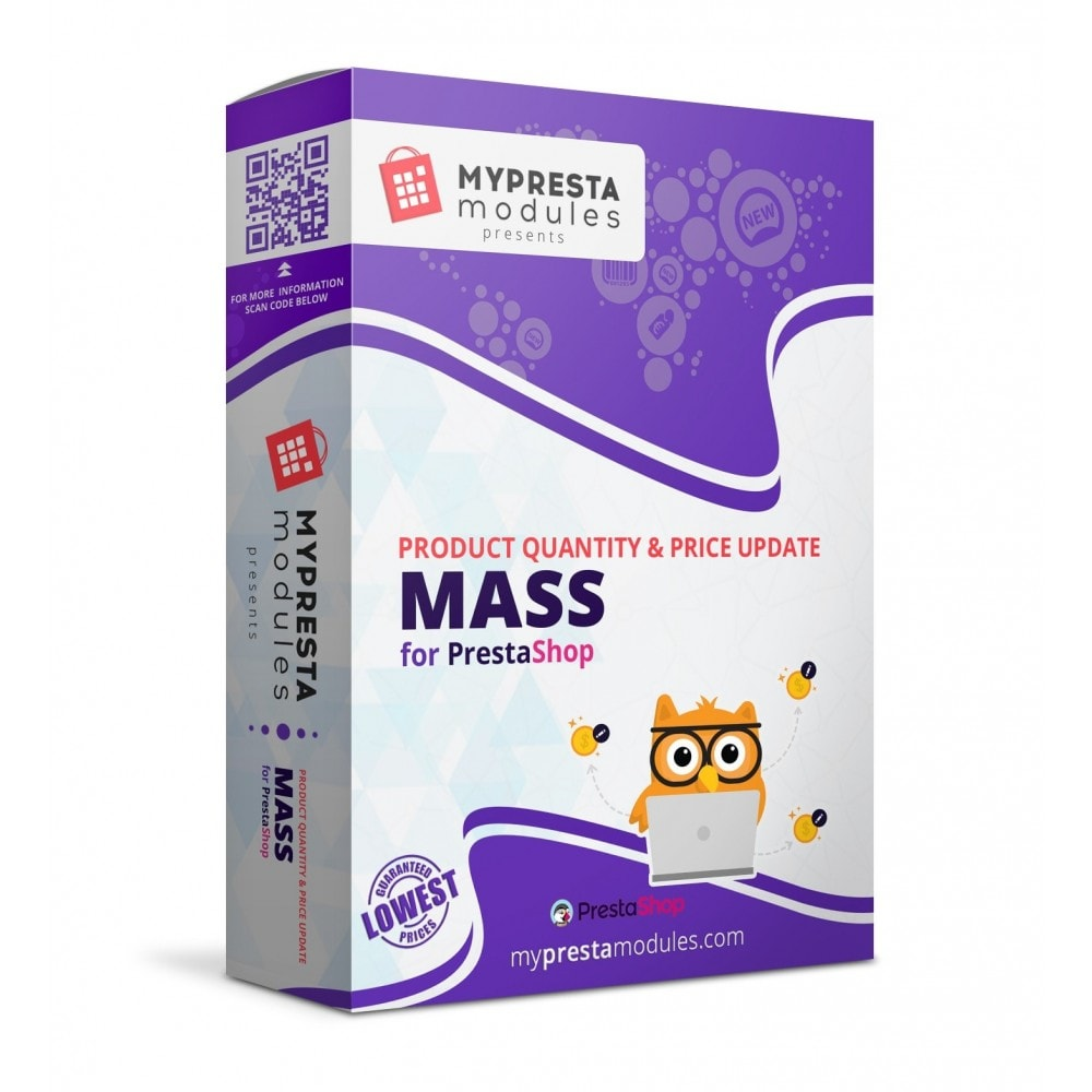 module - Snelle & seriematige bewerking - Mass Product Quantity & Price Update - 1