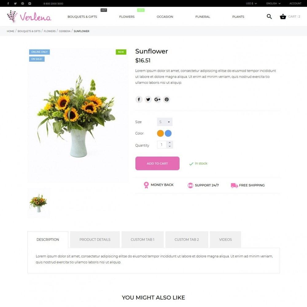 theme - Presentes, Flores & Comemorações - Verlena - 7