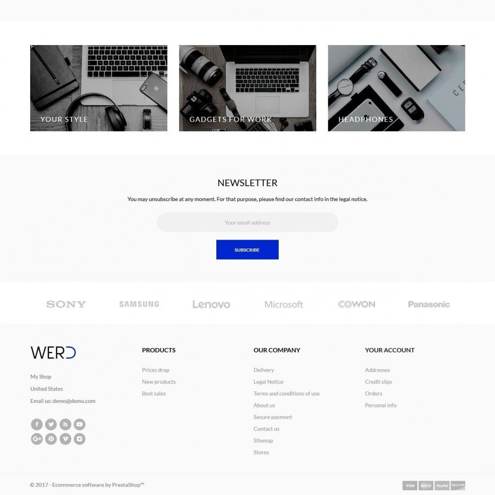 theme - Eletrônicos & High Tech - Werd - High-tech Shop - 5