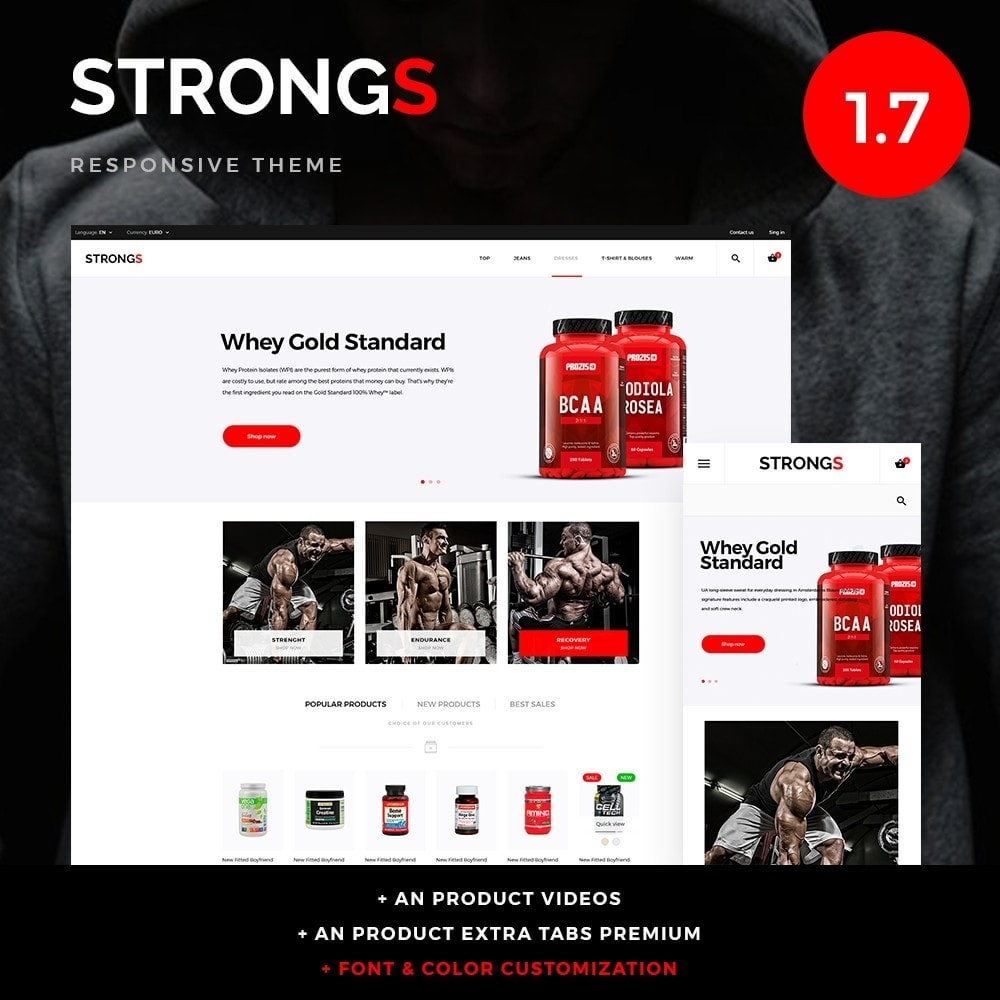 theme - Sports, Activities & Travel - Strongs - 1