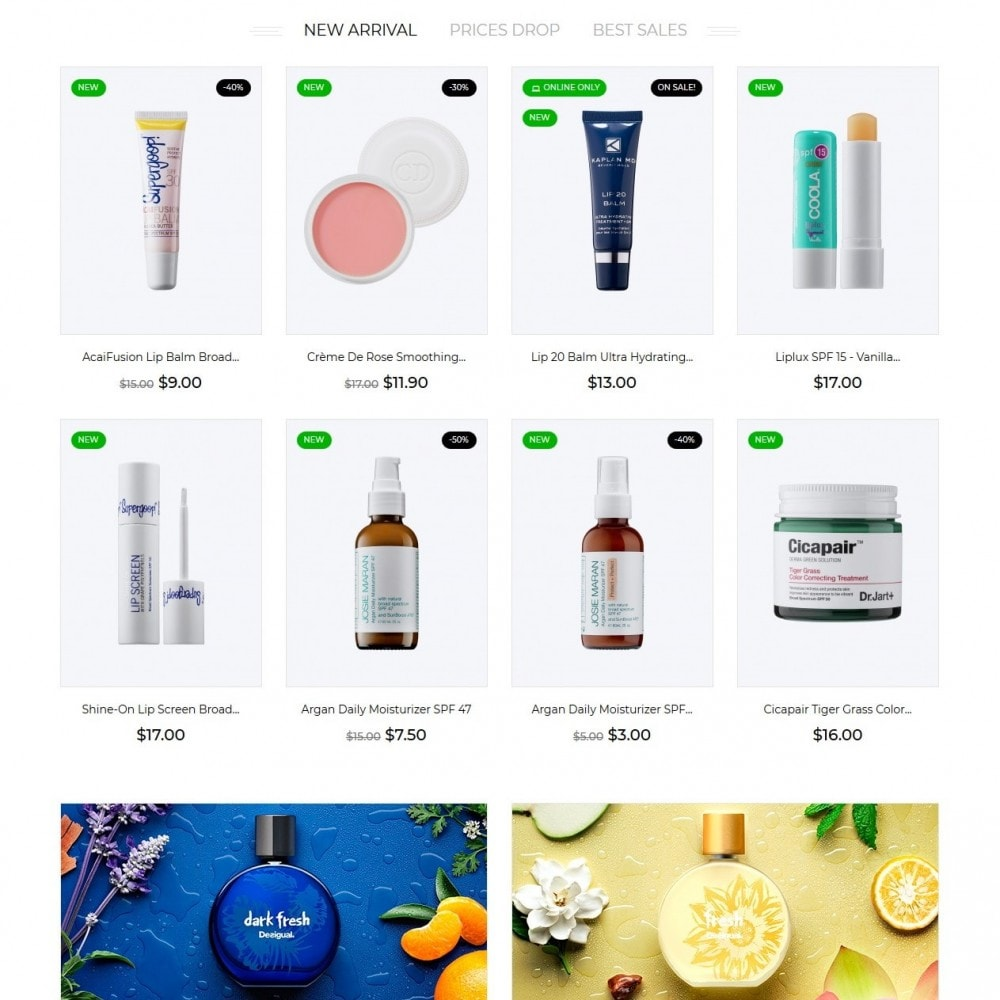 theme - Gezondheid & Schoonheid - Evensy Cosmetics - 4