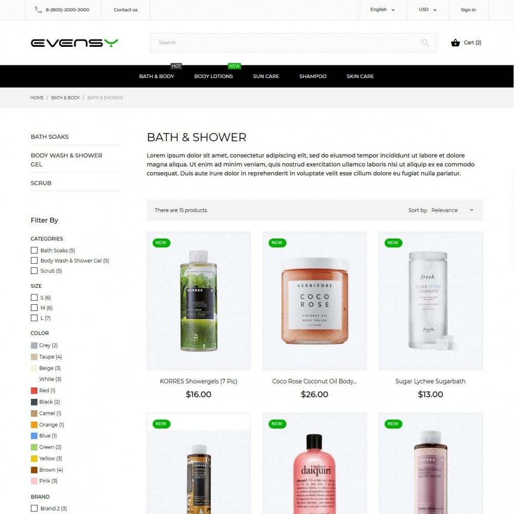 theme - Gezondheid & Schoonheid - Evensy Cosmetics - 6