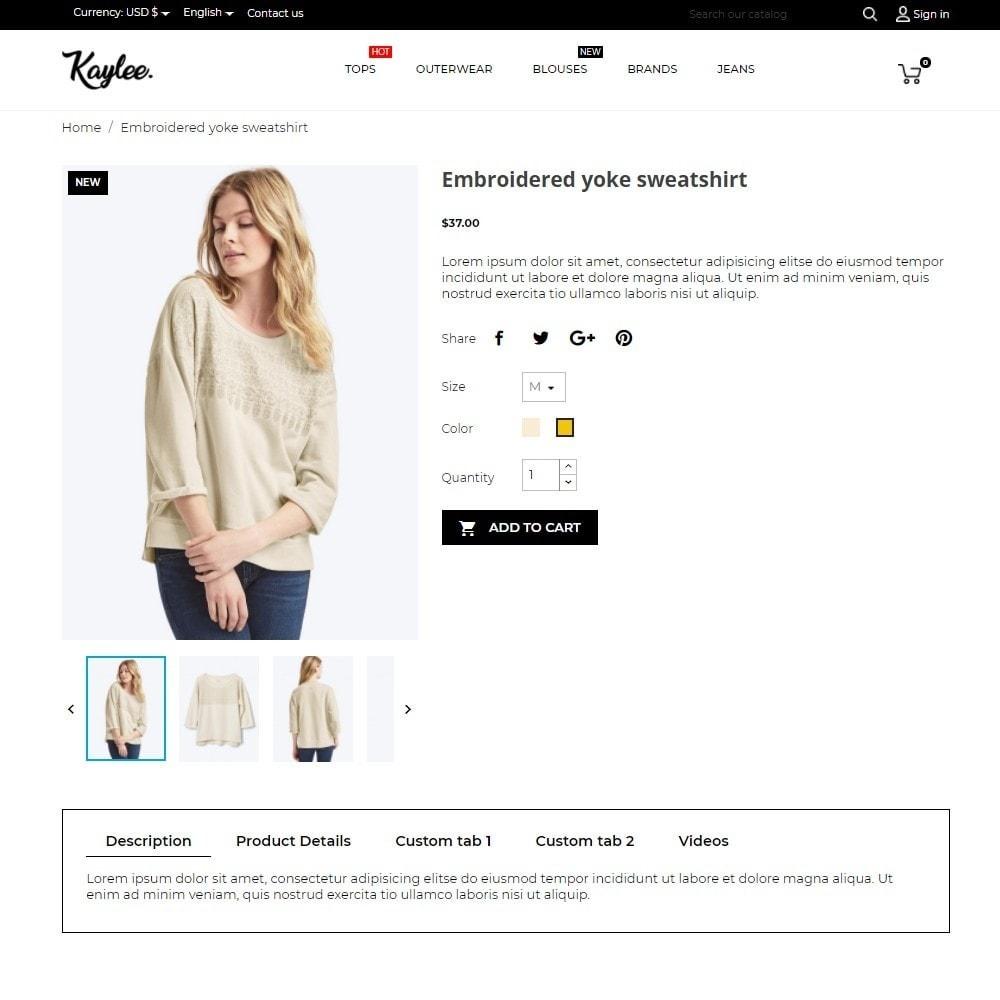 theme - Moda & Calzature - Kaylee Fashion Store - 5