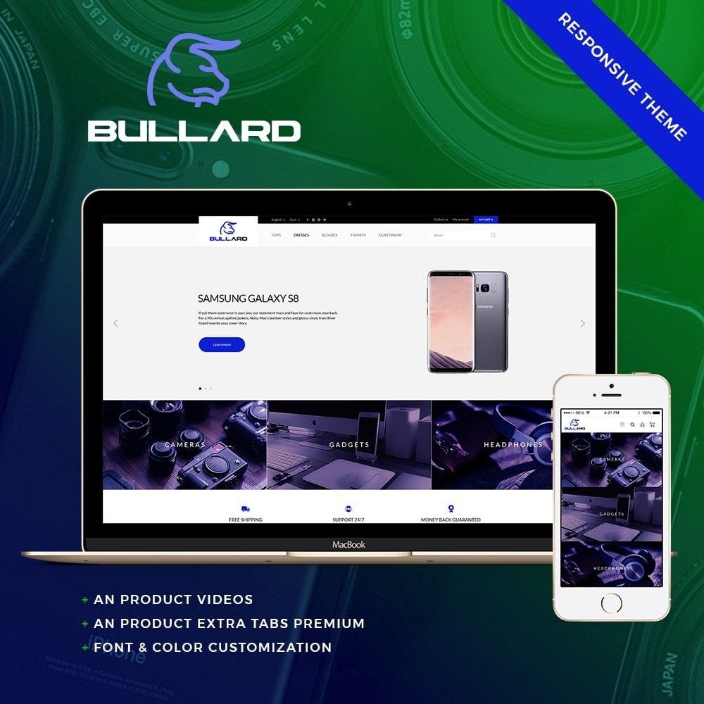 theme - Elektronika & High Tech - Bullard - High-tech Shop - 1