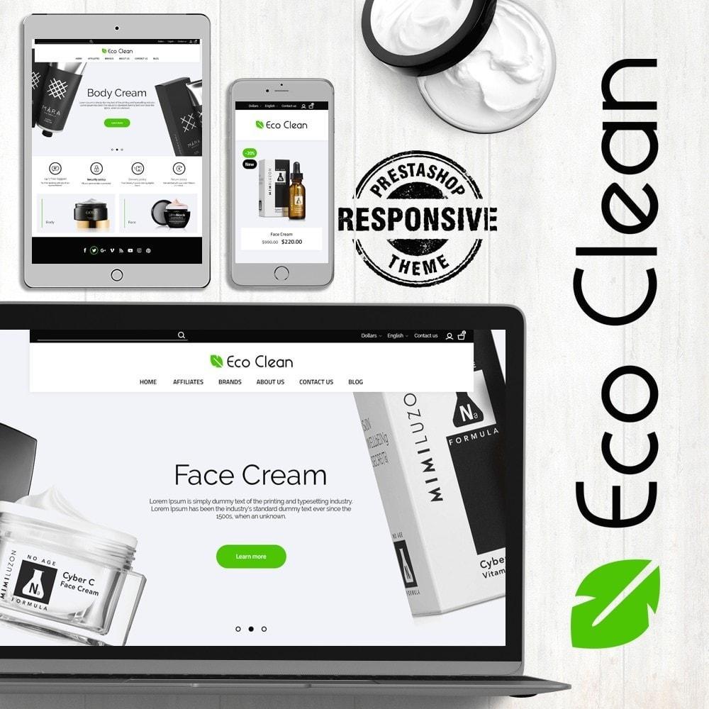 theme - Zdrowie & Uroda - Eco Clean Cosmetics - 1