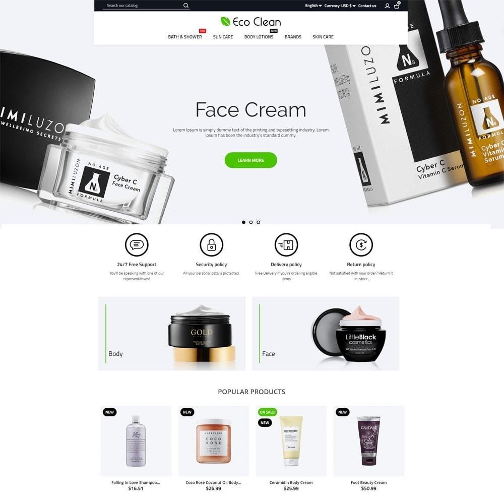 theme - Zdrowie & Uroda - Eco Clean Cosmetics - 2