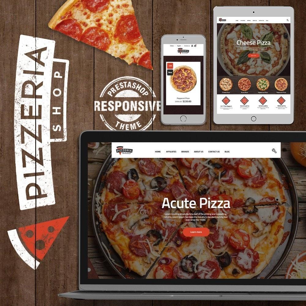 theme - Alimentos & Restaurantes - Pizzeria - 1