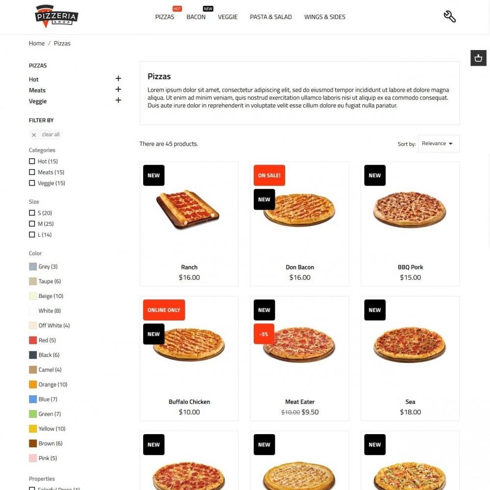 theme - Продовольствие и рестораны - Pizzeria - 6