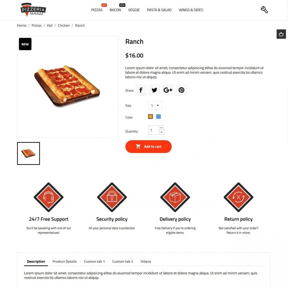theme - Продовольствие и рестораны - Pizzeria - 7