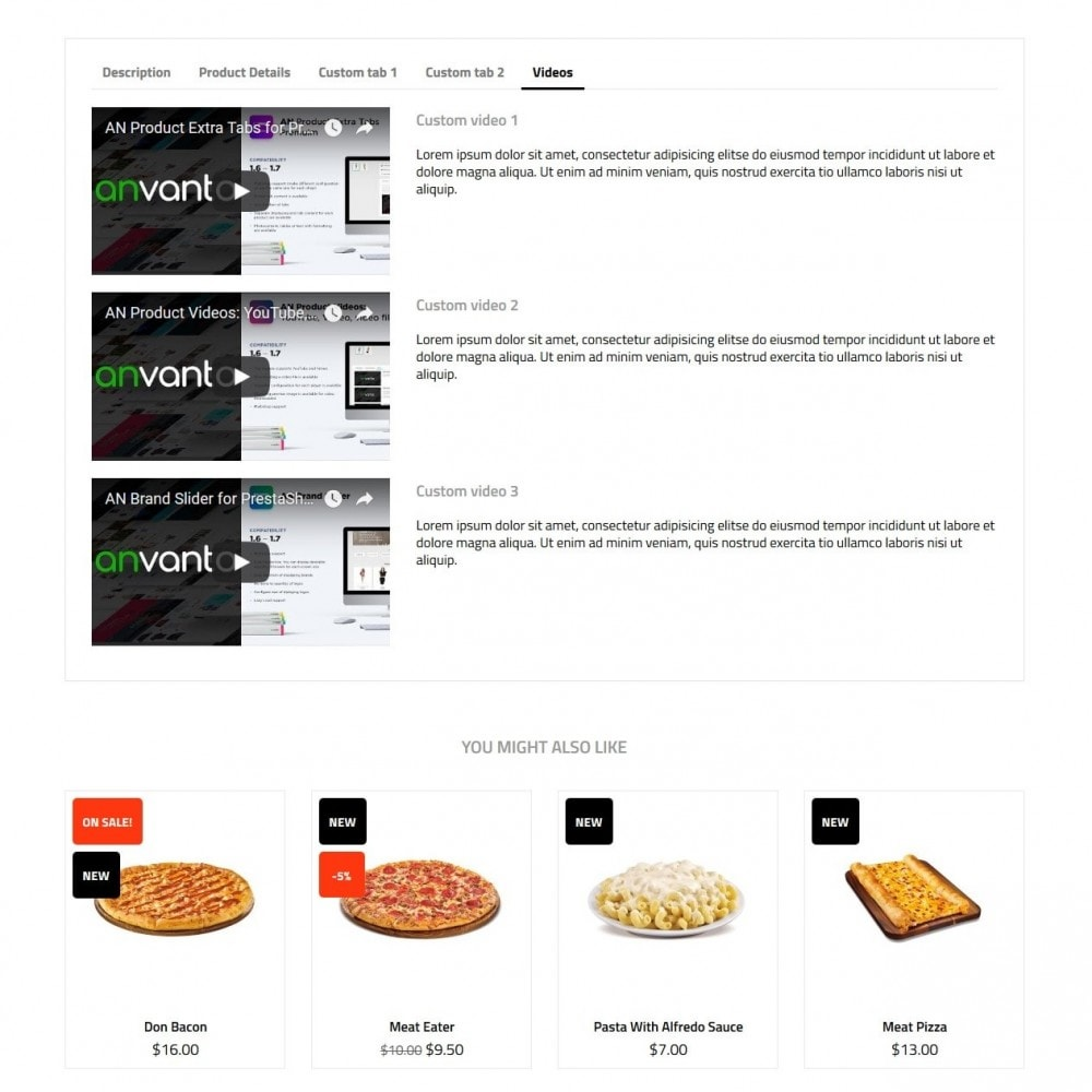 theme - Продовольствие и рестораны - Pizzeria - 9