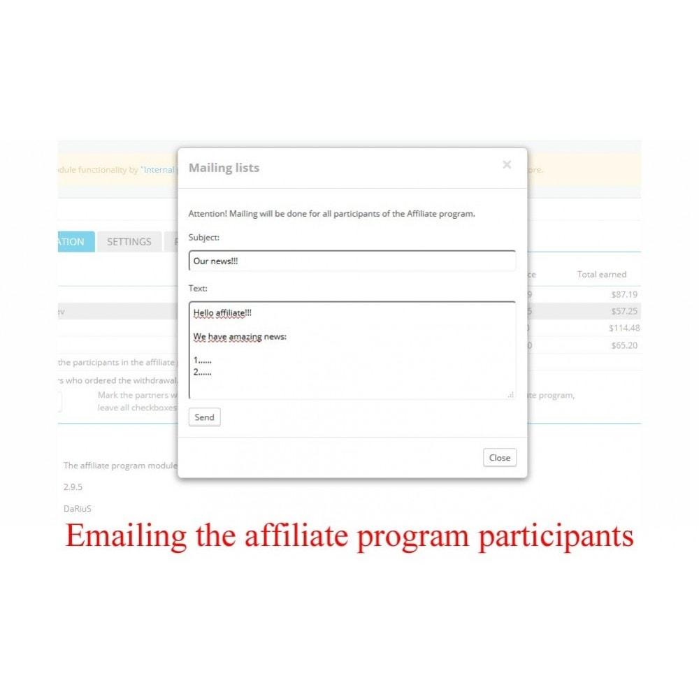module - SEA SEM (paid advertising) & Affiliation Platforms - Extended Affiliate Program RefPRO - 9