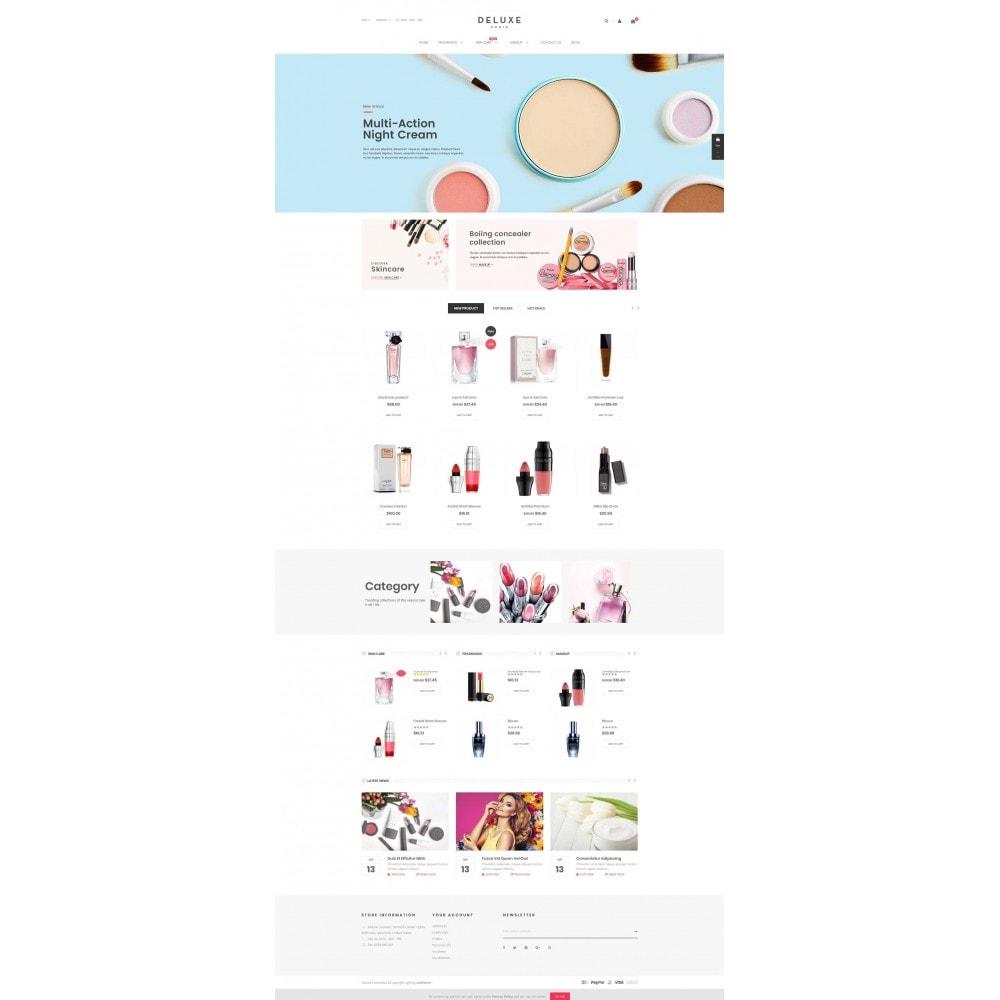 theme - Здоровье и красота - Deluxe Cosmetics - 2
