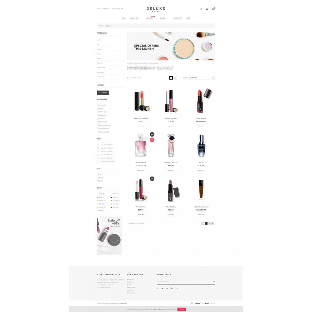 theme - Здоровье и красота - Deluxe Cosmetics - 3