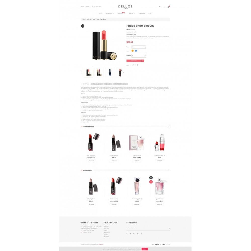 theme - Здоровье и красота - Deluxe Cosmetics - 4