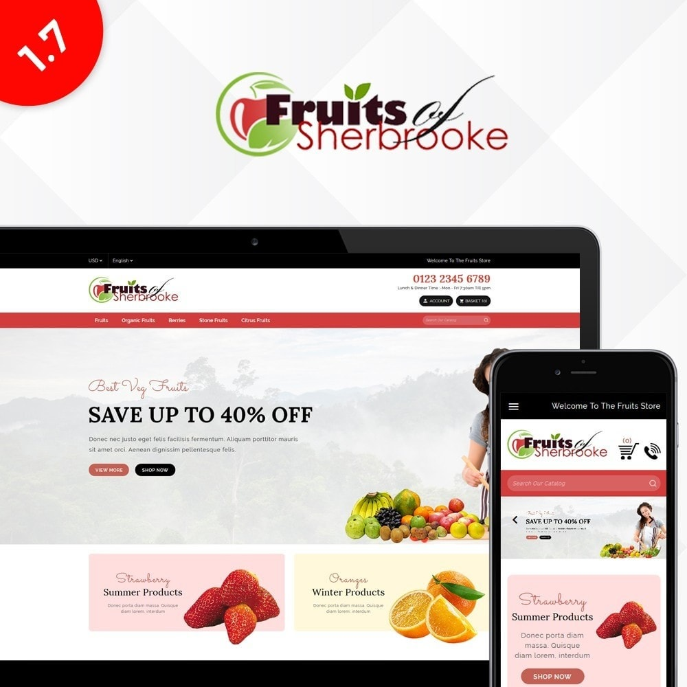theme - Lebensmittel & Restaurants - Fruits store - 1
