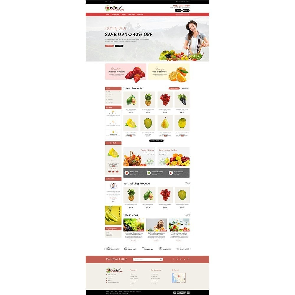 theme - Lebensmittel & Restaurants - Fruits store - 2