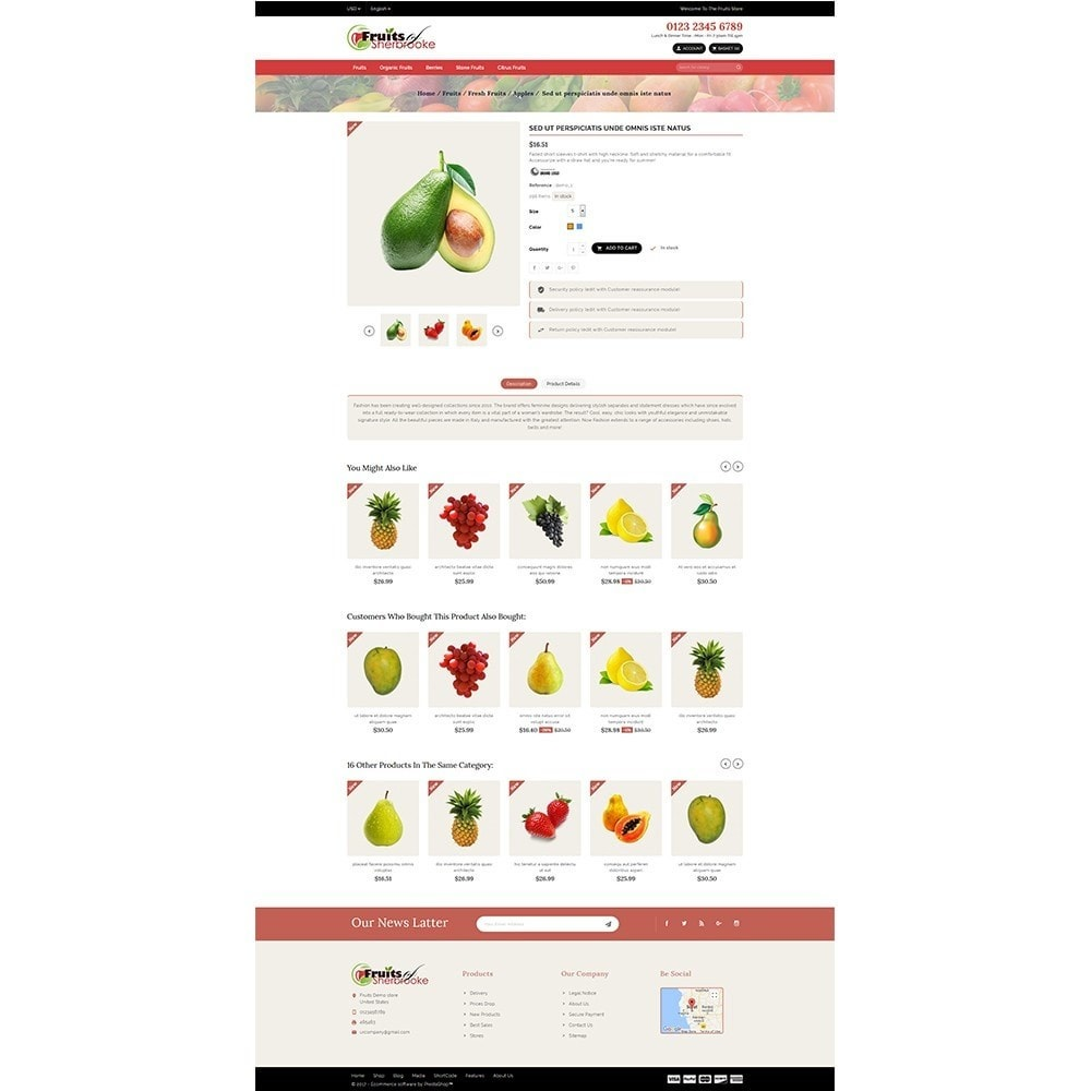 theme - Lebensmittel & Restaurants - Fruits store - 5