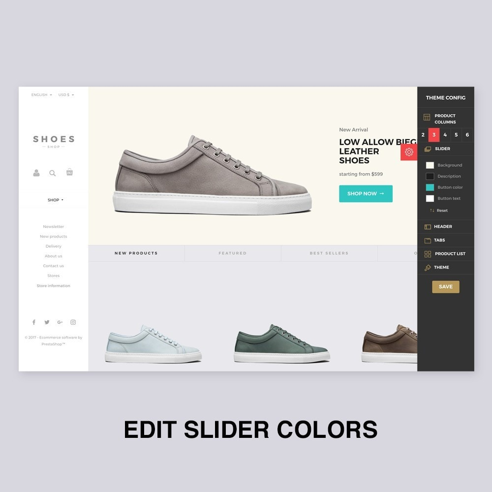 theme - Mode & Chaussures - Configurable Shoes Theme - 3