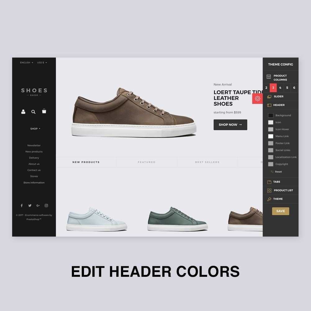theme - Mode & Chaussures - Configurable Shoes Theme - 4