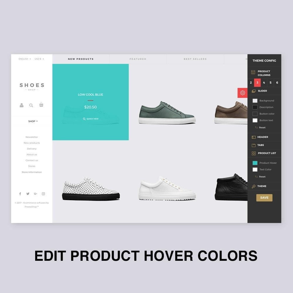 theme - Mode & Chaussures - Configurable Shoes Theme - 6