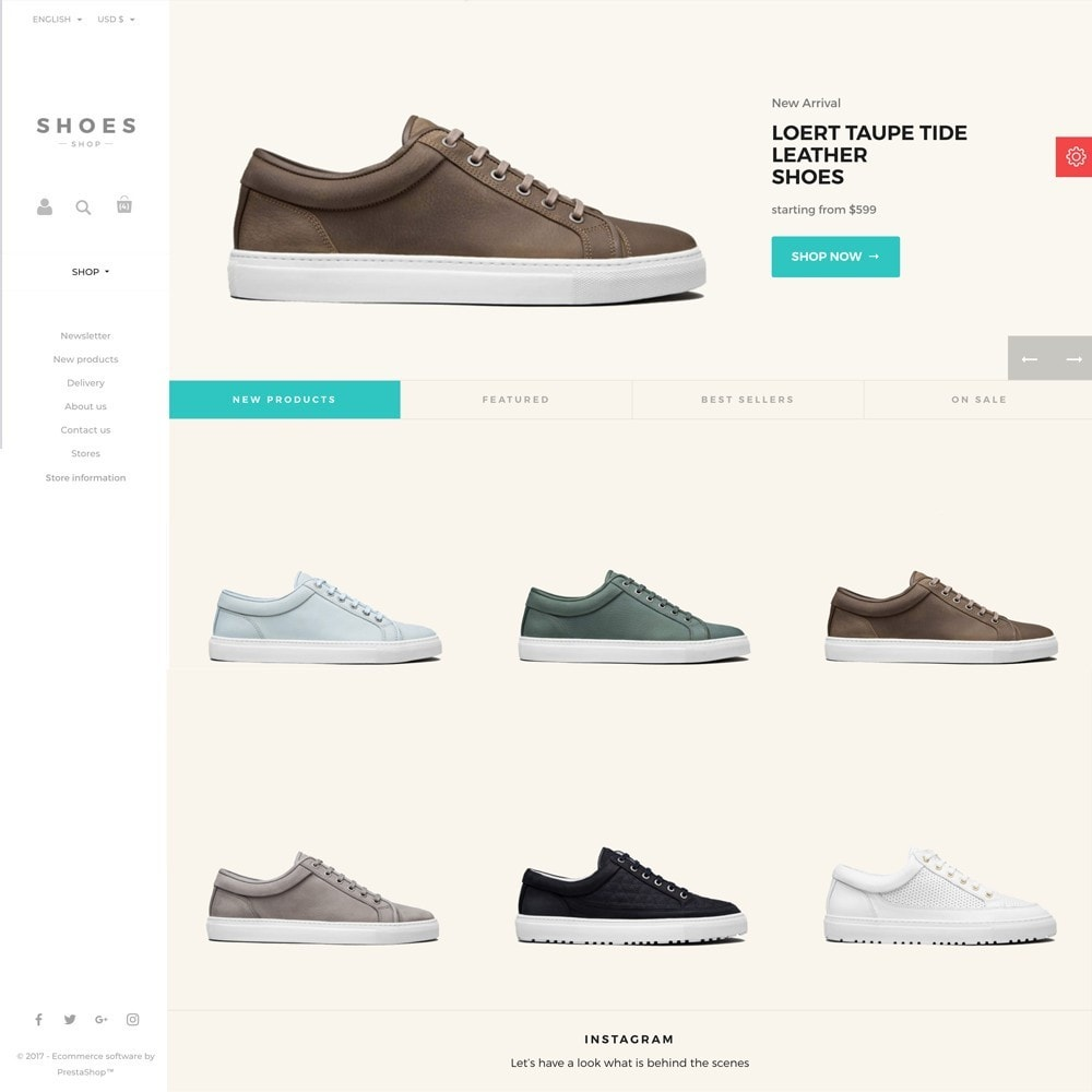 theme - Mode & Chaussures - Configurable Shoes Theme - 7