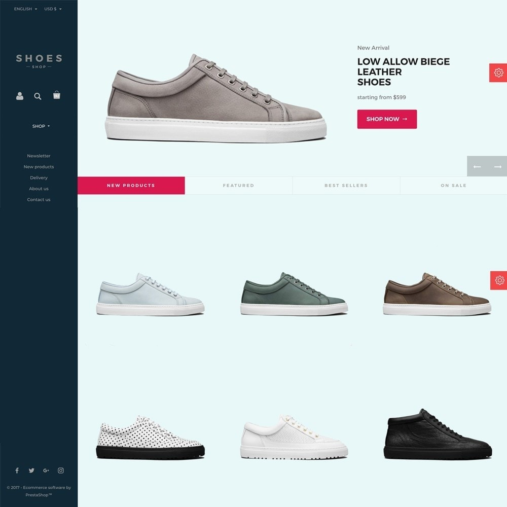 theme - Mode & Chaussures - Configurable Shoes Theme - 8