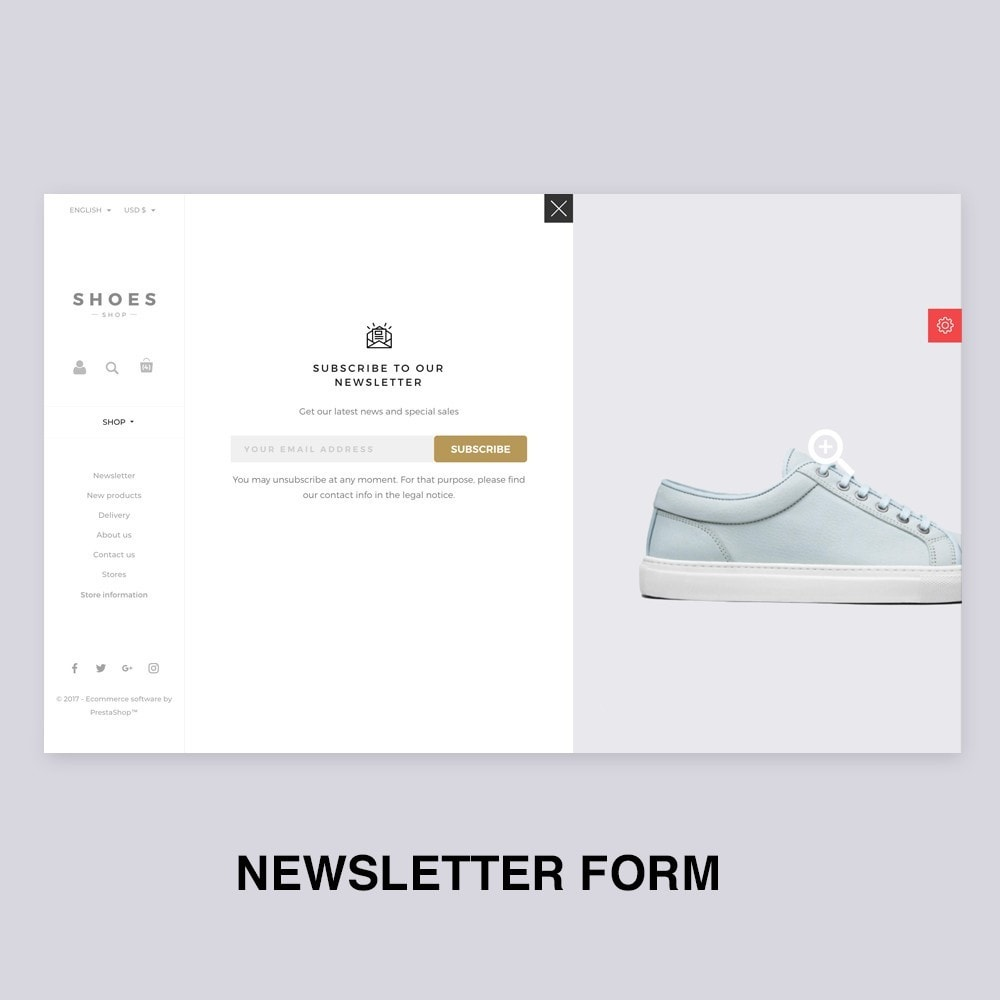 theme - Mode & Chaussures - Configurable Shoes Theme - 10