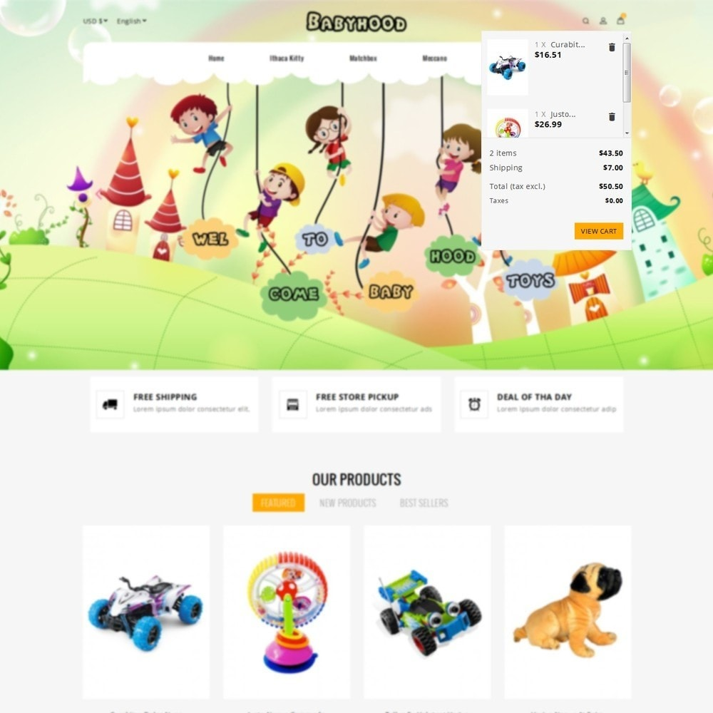 theme - Kinderen & Speelgoed - Babyhood Toys Store - 6