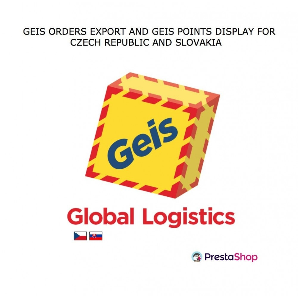 module - Point Relais & Retrait en Magasin - Geis Orders Export and Geis Points Display to CZ and SK - 1