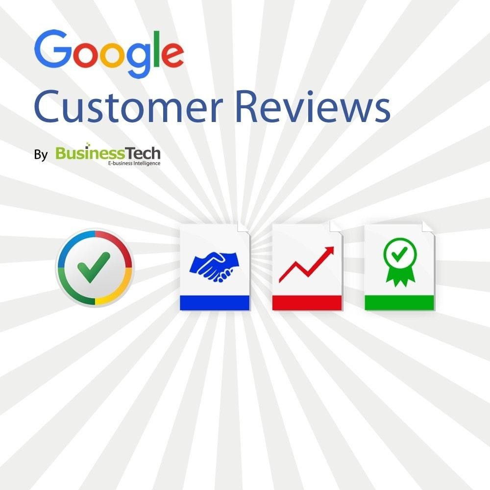module - Programmi fedeltà & Affiliazione - Google Customer Reviews - 1
