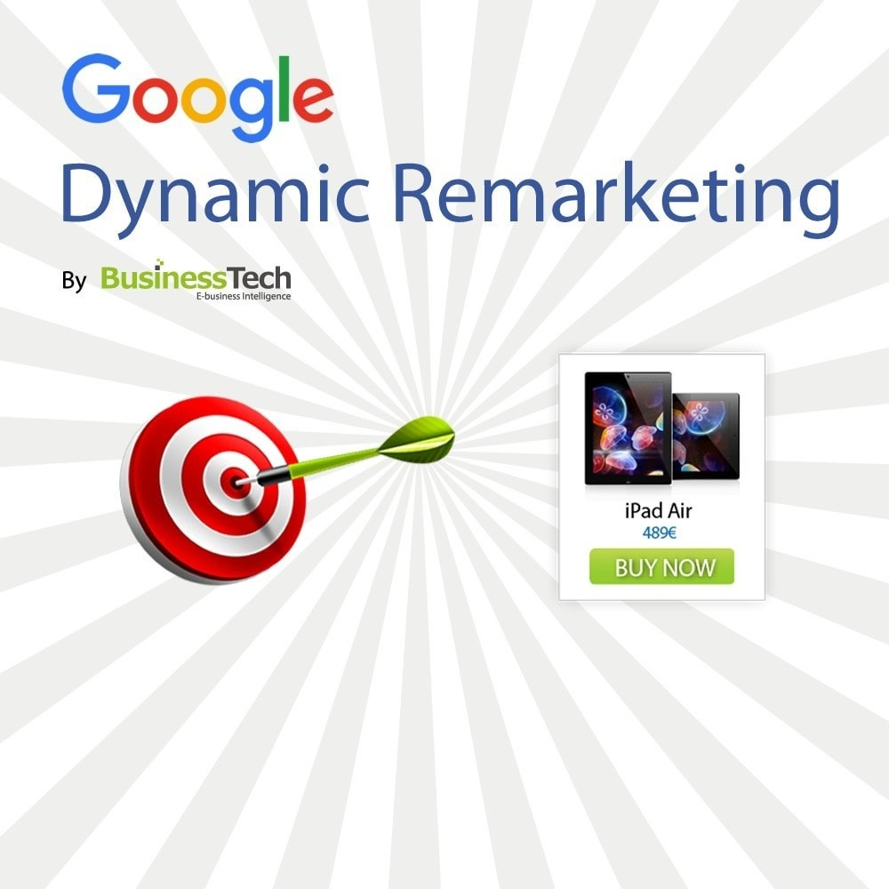 module - Remarketing y Carritos abandonados - Google Dynamic Remarketing - Etiqueta Google-Ads - 1