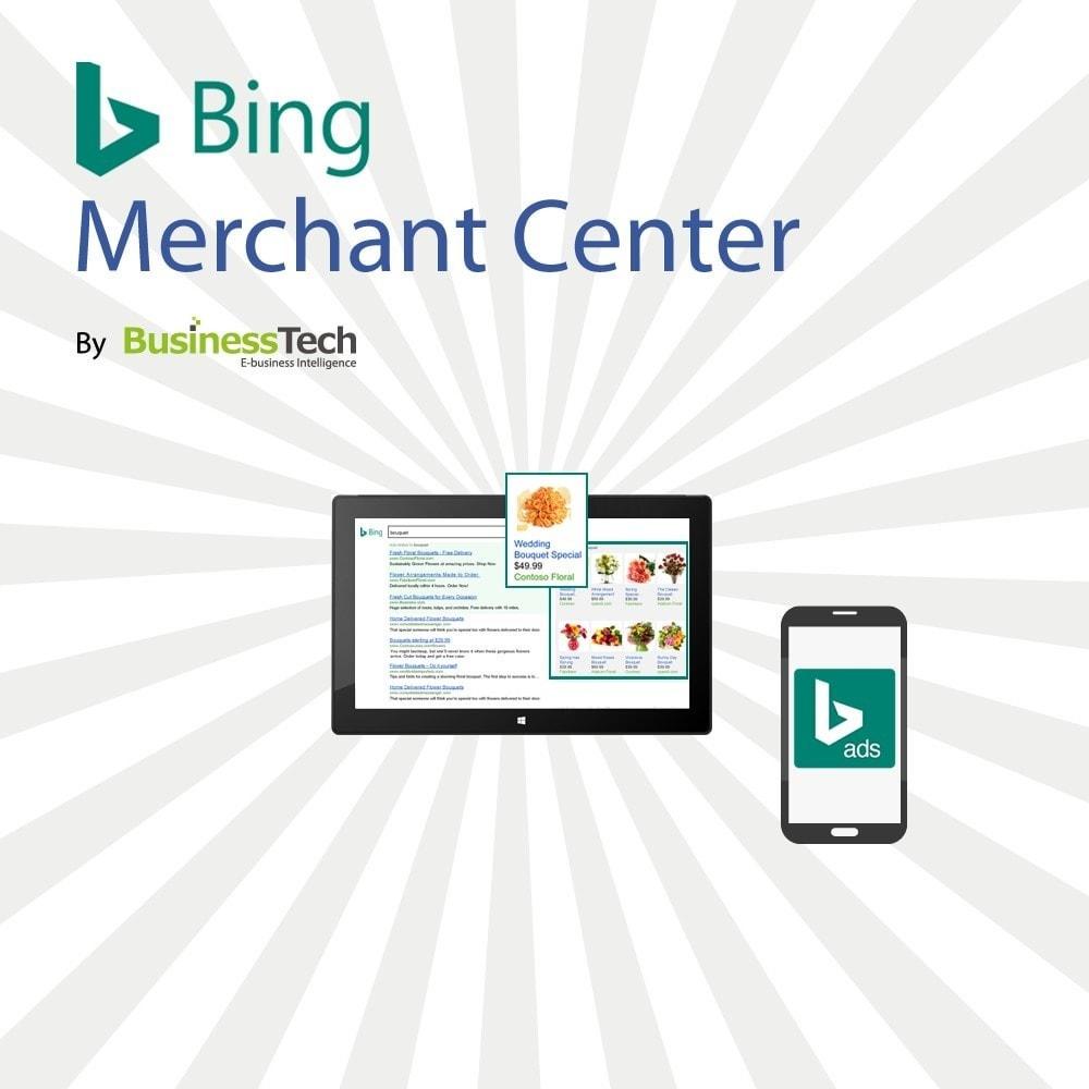 module - Référencement payant (SEA SEM) & Affiliation - Bing Merchant Center - 1