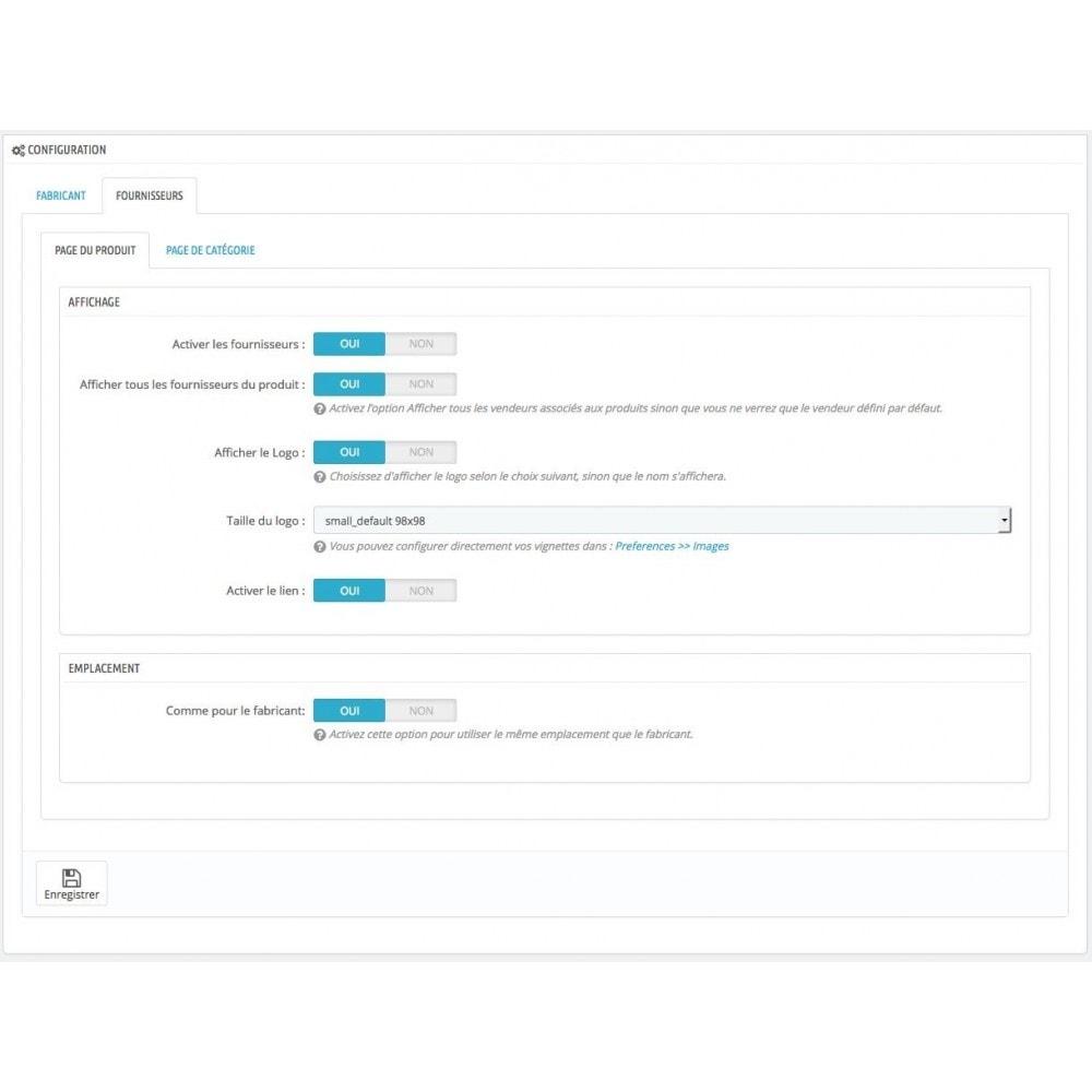 module - Etiquettes & Logos - Afficher le logo Fabricant et / ou Fournisseurs - 5